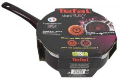 Tefal Dark Ruby Saute Pan With Cover  24cm