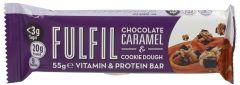 Fulfil Chocolate Caramel-Cookie Dough Vitamin & Protein Bar 55G