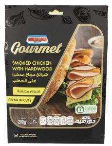 Americana Gourmet Smoked Chicken With Hardwood Premium Cuts 200G