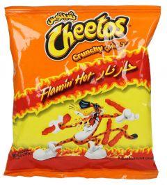 Cheetos Crunchy Flamin Hot Chips
