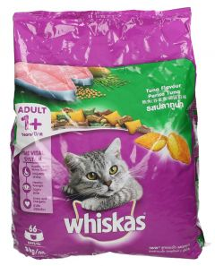 Whiskas Tuna Flavor Adult Cat Food 3kg