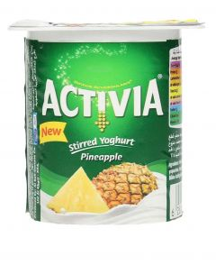 Activia Pineapple Stirred Yogurt