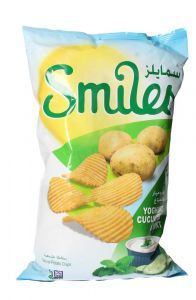 Smiles Yoghurt Cucumber & Mint Chips
