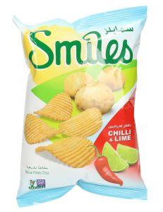 Smiles Chili & Lime Chips
