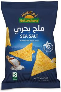 Natureland Sea Salt Tortilla Chips