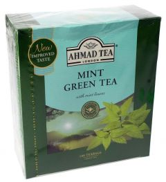Ahmad Tea Mint Green Tea 100 Bags