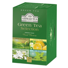 Ahmad Tea Green Tea Selection 20 Bags