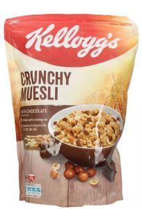 Kellogg'S Crunchy Muesli With Chocolate