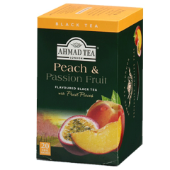 Ahmad Tea Peach & Passion Fruit Black Tea 20 Bags