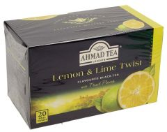 Ahmad Tea Lemon Lime Twist Black Tea 20 Bags