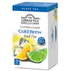 Ahmad Tea Cold Brew Lemon & Lime Iced Tea 20 Bags