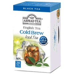 Ahmad Tea Cold Brew Peach & Passion Fruit Iced Tea 20 Bags