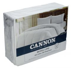 Cannon Hotel Line 100% Cotton King Bed Sheet Set