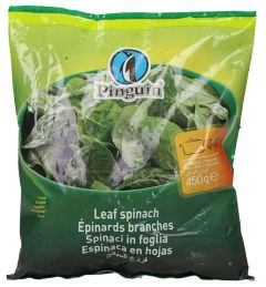Pinguin Whole Spinach Leaves