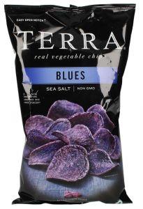 Terra Gluten Free Sea Salt Blues Real Vegetable Chips