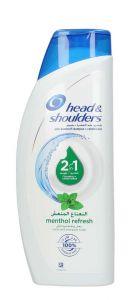 Head & Shoulders 2 In 1 Menthol Refresh Shampoo