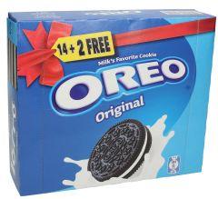 Oreo Original Cookies 14+2 Free