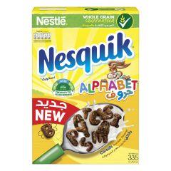 Nestle Nesquik Alphabet Chocolate Cereal