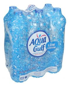 Aqua Gulf Low Sodium Drinking Water Pack of 6