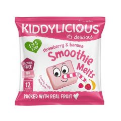 Kiddylicious Strawberry & Banana Melts