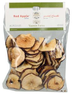 Farmers Market Dried Red Slices Apple