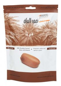 Baraka Dates Milk Chocolate Covered Dates With Alomnds