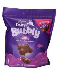 Cadbury Dairy Milk Mini Bubbly Milk Chocolate