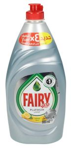Fairy Platinum Lemon Dishwashing Liquid
