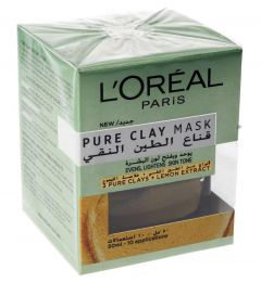 L'Oreal Dermo Clay Yellow Mask