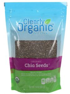 Clearly Organic Chia Seeds