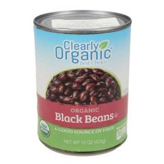 Clearly Organic Black Beans
