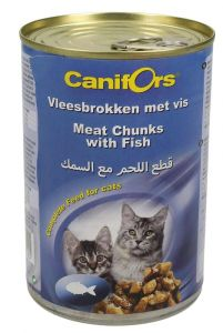 Canifors Meat Chunks With Fish Complete Cat Food