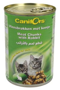 Canifors Meat Chunks With Rabbit Complete Cat Food