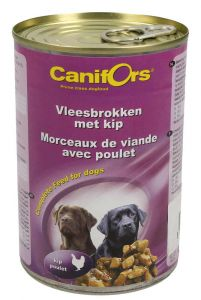 Canifors Meat Chunks With Chicken Complete Dog Food