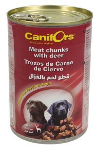 Canifors Meat Chunks With Deer Complete Dog Food