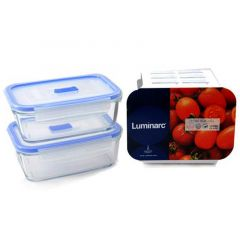 Luminarc Rectangular Assorted Pure Box Set