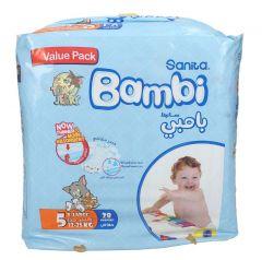 Sanita Bambi size 5 Xlarge 13-25Kg value pack diapers