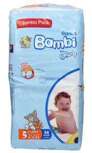 Sanita Bambi 5 Xlarge 13-25Kg Diapers