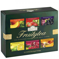 Ahmad Tea Fruity Tea Selection of six flavored tea