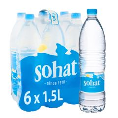 Sohat Natural Mineral Water 6 Pieces