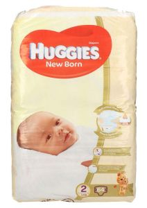Huggies size 2 new born 4-6Kg diapers