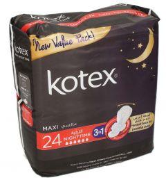 Kotex Maxi Nighttime 3In1 Pads