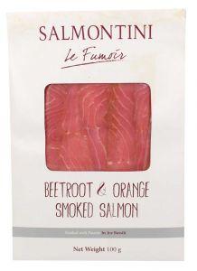 Salmontini Smoked Salmon Beetroot And Orange