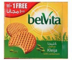 Belvita Kleija With Cardamom Biscuits 11+1 Free