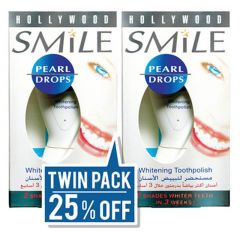 Pearl Drops Whitening Tooth Polish  - Twin Pack 25% Off
