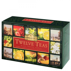 Ahmad Tea Twelve Tea 60 Foil Wrapped Tea Bags