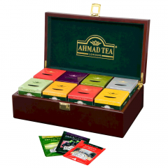 Ahmad Tea Keeper Prestige Chest With 8 Varieties Of Tea