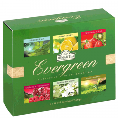 Ahmad Tea Evergreen Selection Of Six Green Tea