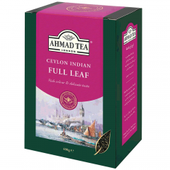 Ahmad Tea Cylon Indian Full Leaf Tea With Free Tea Mesure