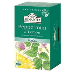Ahmad Tea Relax Peppermint & Lemon Tea